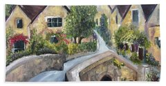 Castle Combe Hand Towel by Roxy Rich