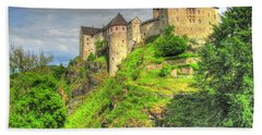 Castle Czech Republic Hand Towel by Yury Bashkin