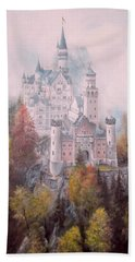 Castle In The Clouds Bath Towel