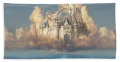 Castle In The Sky Hand Towel
