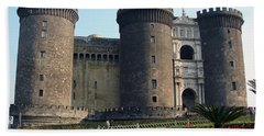 Castle Nuovo Naples Italy Bath Towel