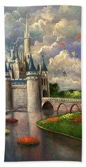 Castle Of Dreams Hand Towel