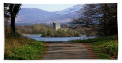 Castle On The Lakes Hand Towel
