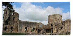 Castle Ruins Bath Towel