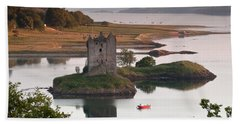 Castle Stalker Bath Towel