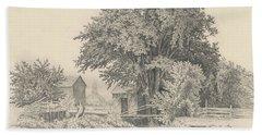 Castleton, Vermont, 1871 Bath Towel