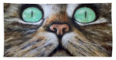 Cat Eyes Bath Towel