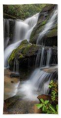 Cat Gap Loop Trail Waterfall Bath Towel