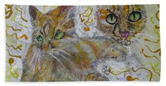 Cat Named Phoenicia Hand Towel