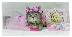 Cat Tea Party Hand Towel
