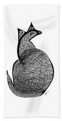 Catbird Abstract Rd101 Bath Towel