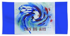 Catch The Wave Hand Towel
