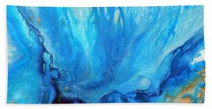Cathartic Flow  Bath Towel
