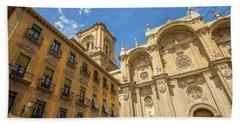 Cathedral Of Granada Bath Towel
