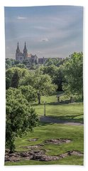 Bath Towel featuring the photograph Cathedral Of St Joseph #2 by Susan Rissi Tregoning