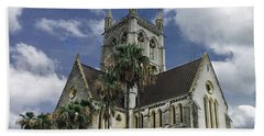 Cathedral Of The Most Holy Trinity Bermuda Hand Towel