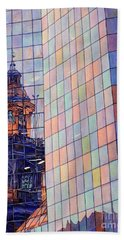 Cathedral Reflection Santiago Hand Towel