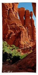 Cathedral Rock 06-124 Bath Towel by Scott McAllister