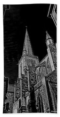 Bath Towel featuring the photograph Cathedrale St/. Vincent by Elf Evans