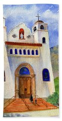 Catholic Church Miami Arizona Bath Towel
