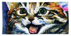 Cats Eyes 15 Bath Towel
