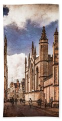 Oxford, England - Catte Street Hand Towel