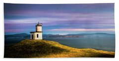 Cattle Point Lighthouse Hand Towel