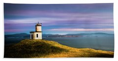 Cattle Point Lighthouse Bath Towel