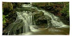 Cave Falls At Cole Run Hand Towel