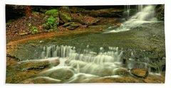 Cave Falls Landscape Hand Towel