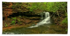 Cave Falls Of Somerset County Hand Towel