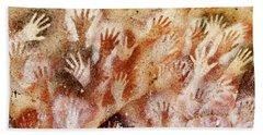 Cave Of The Hands - Cueva De Las Manos Bath Towel