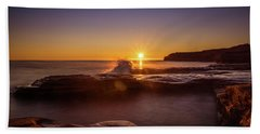Cavendish Waves At Sunrise Bath Towel