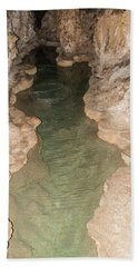 Cavern Pond 3 Hand Towel by James Gay