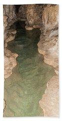 Cavern Pond 3 Bath Towel by James Gay