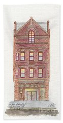 Cccadi In East Harlem Hand Towel by Afinelyne