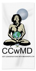 Ccwmd Logo White Background Hand Towel