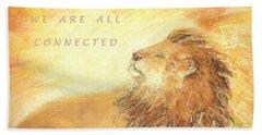 Cecil The Lion Bath Towel