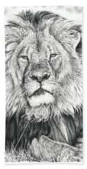 Cecil The Lion  Bath Towel