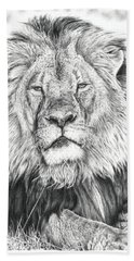 Cecil The Lion  Hand Towel