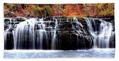 Cedar Creek Falls, Kansas Bath Towel