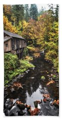 Cedar Creek Grist Mill Color Burst Bath Towel