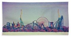 Cedar Point Skyline Hand Towel