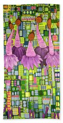 Celebrate Hand Towel by Donna Howard