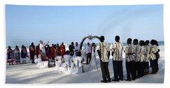 Celebrate Marriage In Kenya Bath Towel by Exploramum Exploramum