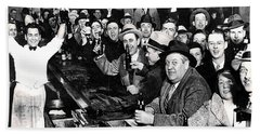 Celebrating The End Of Prohibition Bath Towel