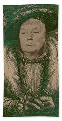 Celebrity Etchings - Donald Trump  Bath Towel