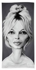 Celebrity Sunday - Brigitte Bardot Hand Towel