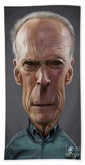 Celebrity Sunday - Clint Eastwood Hand Towel
