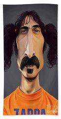 Celebrity Sunday - Frank Zappa Bath Towel